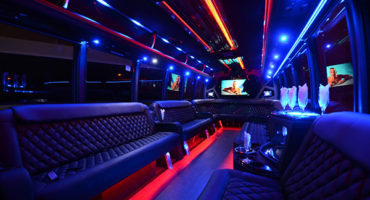 40 passenger party bus rental Oakland
